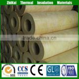 "China supplier super mineral wool pipe insulation, 1"" Steam heat resistant rock wool pipe/"