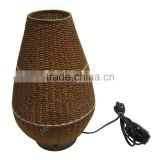 Bead lamp with lotus bulb shape, gold color included electric wire, socket and light bulb