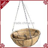 S&D Wholesale hanging flower basket , Iron wire flower basket , flower basket