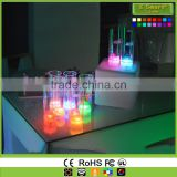Plastic LED Drinking Glasses ,Led Beer Glow Wine Glssses for Party,Colour Changing Drinking Glasses