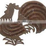 ROOSTER METAL ANIMAl SHOE BRUSH