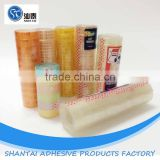 wholesale different size stational official adhesive tape with plastic core custom package