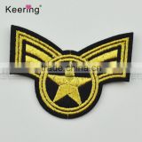 Factory Wholesale New Design Pretty Military Chapter Embroidery Patch Fabric Craft WEFA-005