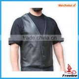 2016 Mens custume motorcycle leather biker vest