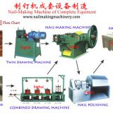 China concerete steel nail making machine hot sell in Kenya market