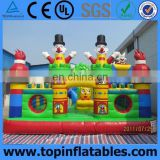 Outdoor games kids giant inflatable fun city