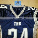 Professional American Football wear with Tackle twill embroidery