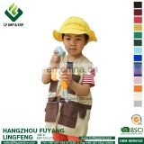 Construction Worker Costume Set for kids play