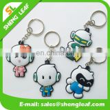 Advertising Custom 3d Soft PVC Rubber Keychain