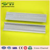 50*17mm Corrosion resistant galvanized cross runner c channel with  0.35-0.6mm thickness