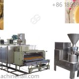 High quality sesame grinding production line for sale in factory price sesame butter making machine supplier China