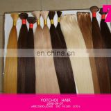 Hot sale factory cheap price high quality 100% human remy colored bundle hair