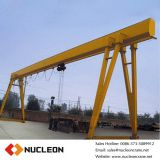 Outside electric hoist single girder gantry crane