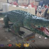 real life size crocodile simulation with movement