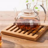 Accept OEM bamboo bowl coaster,bamboo table mat
