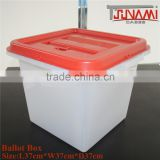 TSUNAMI New Coming 37*37*37cm!!!!Guangzhou Industrial Equipment Lockable Practical Plastic Ballot boxes