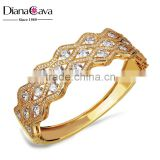 Factory Direct Top Crystal Quality Bling CZ Banquet Party Women Luxury Bangle