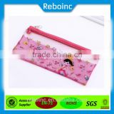 Reboinc-X13 Factory manufactuer School student slider zipper pvc pencil bag nylon zipper pvc pencil bag                                                                         Quality Choice