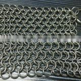 custom made clear cast iron chain mail , wholesale high quality stainless steel chainmaill