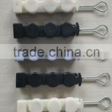 ABS tunable optical fiber rod wire rope clamps