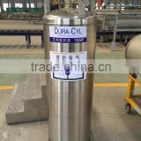 LNG cylinder Cryogenic cylinder for liquid oxygen double-layer vacuum structure