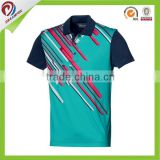 hot selling custom dri fit black orange polo shirt with logo embroidery