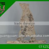 2014 New design decorative solid wood birch beer