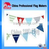 China producer provide cheap triangle flag bunting