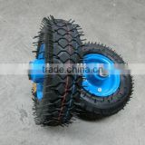 8 inch air rubber wheel 2.50-4 hand trolley rubber wheel