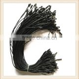 High quality Black wax rope seal tag plastic