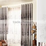 Custom Modern New Design 100% Polyester Window Curtain Shower window curtain living room curtains