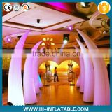 2015 newly brand LED lighting inflatable event decoration supplies for wedding,party decoration
