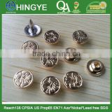 Zinc Alloy Material Metal Rivets for Jeans -- RZ1412006