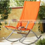 Patio Garden Rocking Chair,Outdoor Rocking Chair,Garden Rocking Chair,Steel Frame Rocking Chair,Leisure Rocking Chair