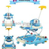 Plastic Music Toys Mobile Entertainer New Model Softtextile Baby Walker