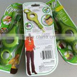 Open It Multifunctional Can Opener Women Design 4 Tools in 1 Bottle Twist/Caps & Tabs Cut