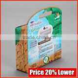 Wax Vegetable Paper Box, Fancy Special Effects Printing Packaging Carton Producer