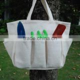 Wholesale Blanks Domil Garden Tool Bag Harvest Bag Utility Tote Bag Storage Holder with Pocket