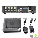 Hot selling 4CH H.264 1080P AHD DVR support 720P realtime playback1 SATA HDD (MAX 6TB ) HI3521 Chip CCTV DVR Recorder