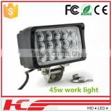 LED work lamp for truck 12V 24V 48W Crystal led auto led work light                                                                         Quality Choice