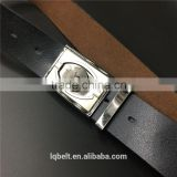 Men's smooth buckle belt PU punch man wholesale 100%Factory belts for men PVC plastic rubber