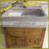 Bewell Stone Wholesale 42 inch cheap bathroom vanity cheap wooden cabinet