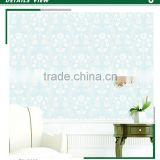 cheap foaming non woven wallpaper, gothic floral wall mural for home decorative , deco wall covering wholesale