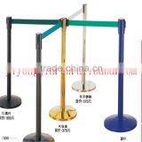 warning line stainless steel movable fence telescopic fence railing stand