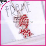 2015 fashion necklace for women / animals' pendant necklace/stainless steel necklace