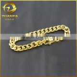 fashion jewelry classic design bracelet stainless steel miami cuban chain