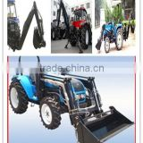 cheap price new model 25hp to 120hp 4x4 tractor with front end loader and backhoe with best quality