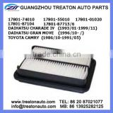 AIR FILTER 17801-74010 17801-55010 17801-01020 17801-87104 17801-87715/6 FOR DAIHATSU CHARADE IV 93-99 GRAN MOVE 96- CAMRY 86-91