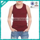 Children gym wear , child tank tops , child sleeveless clothing