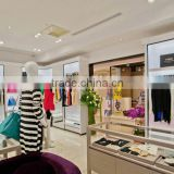 Fashion garment showroom interior design / fixture interior design / fireproof display case for Clothes Shop